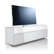 Loewe Rack 165.45 SP High-Gloss White
