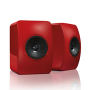 KEF LS50 Racing Red